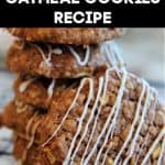 Apple Cinnamon Oatmeal Cookies Recipe