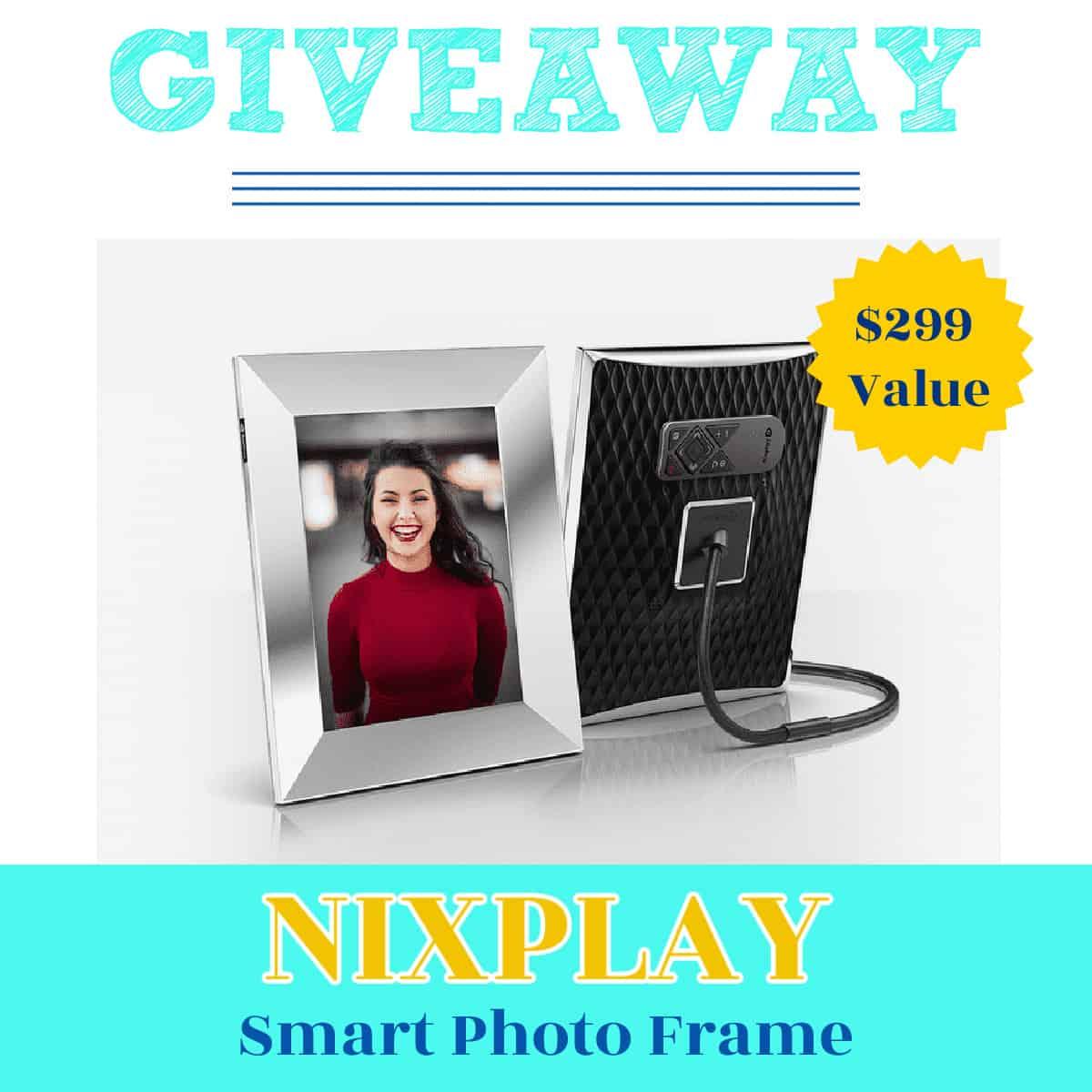 Giveaway Nixplay Smart Photo Frame