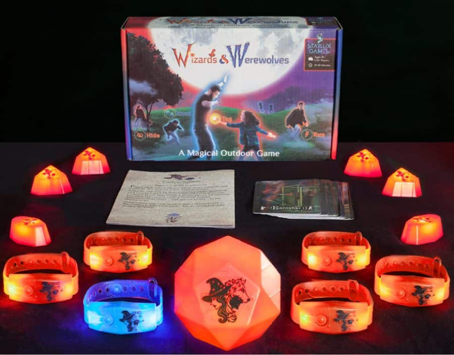 light up game - Starlux Games - Wizards And Werewolves Game Giveaway