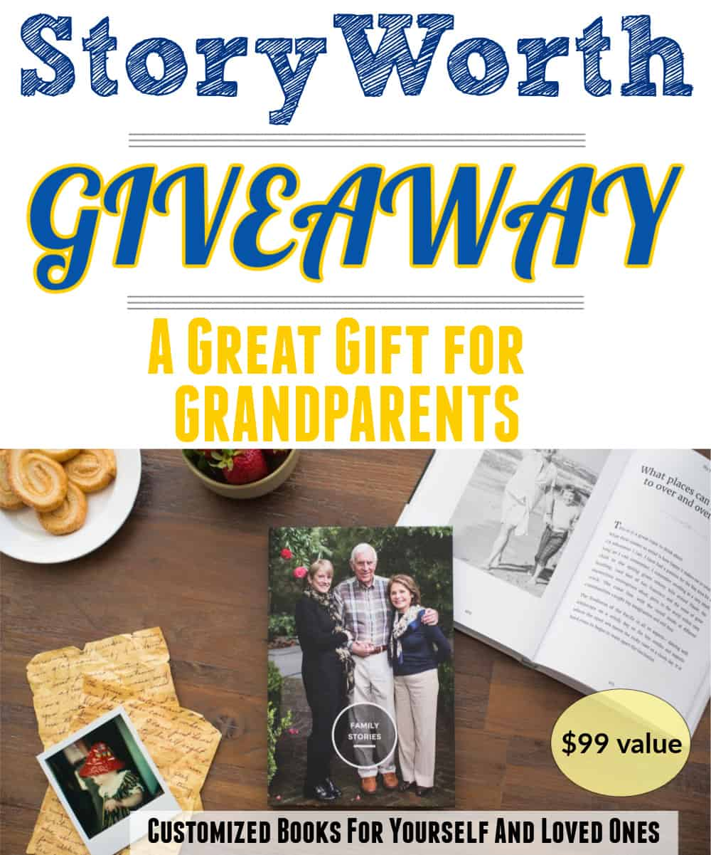 StoryWorth Giveaway A great gift for grandparents