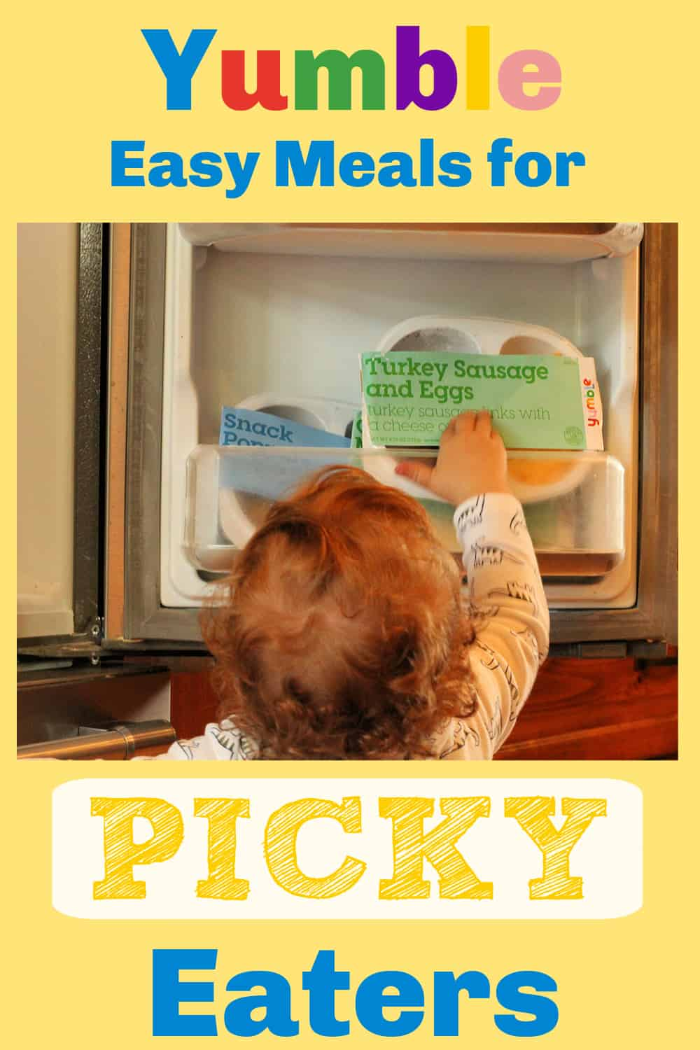 Yumble easy meals for picky eaters