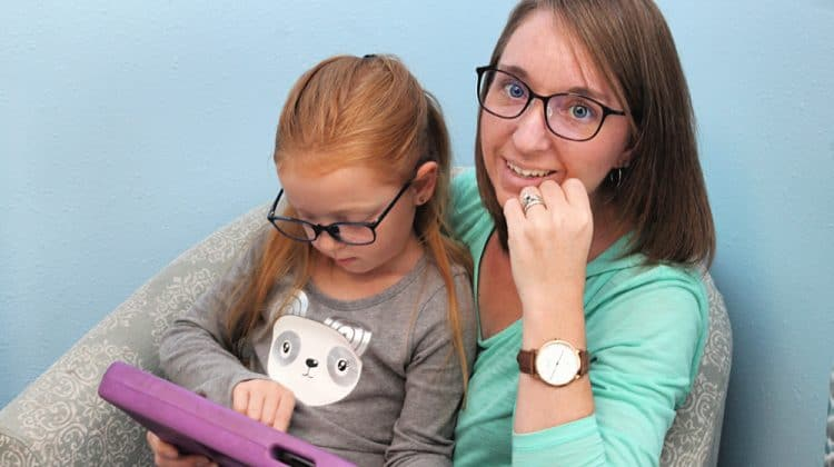 mom and daughter - Do Blue Light Glasses Really Work - What You Need To Know -- JINS Eyewear