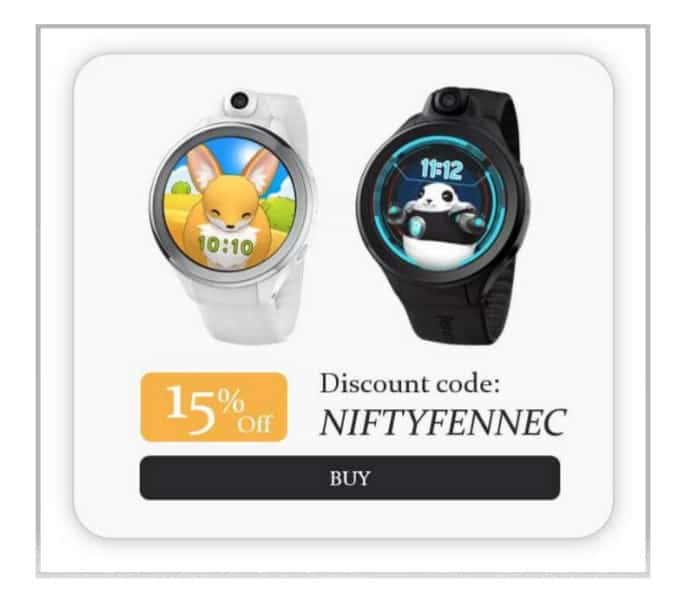 Fennec Kids Smartwatch Discount