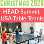 HEAD Summit USA Table Tennis Review - Family Gift Idea!