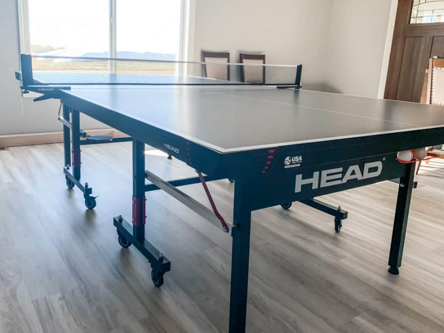 ping pong table - HEAD Summit USA Table Tennis Review - Family Gift Idea!