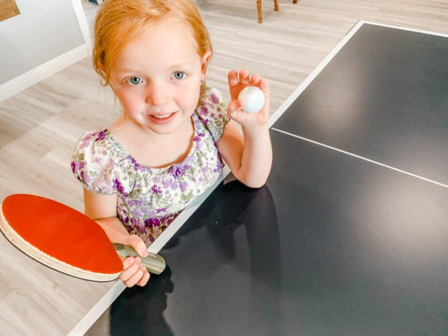 little girl - HEAD Summit USA Table Tennis Review - Family Gift Idea!