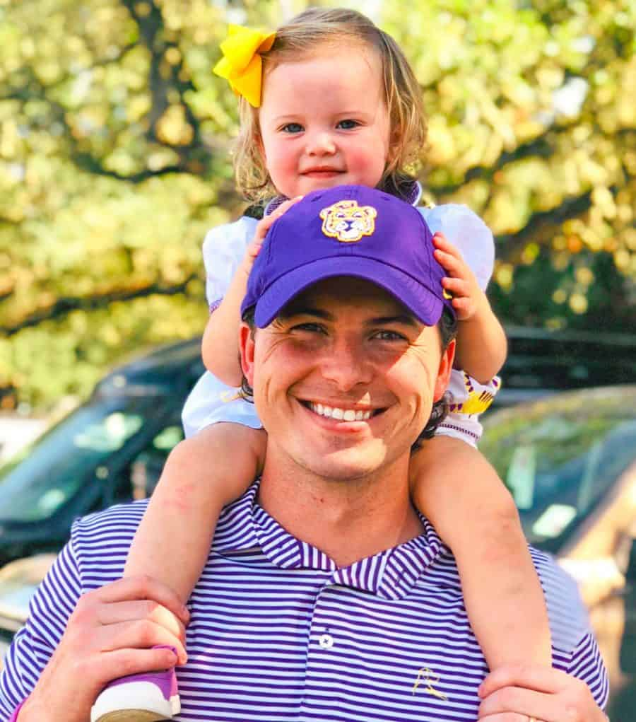 dad and daughter - Rhoback Performance Polos Giveaway