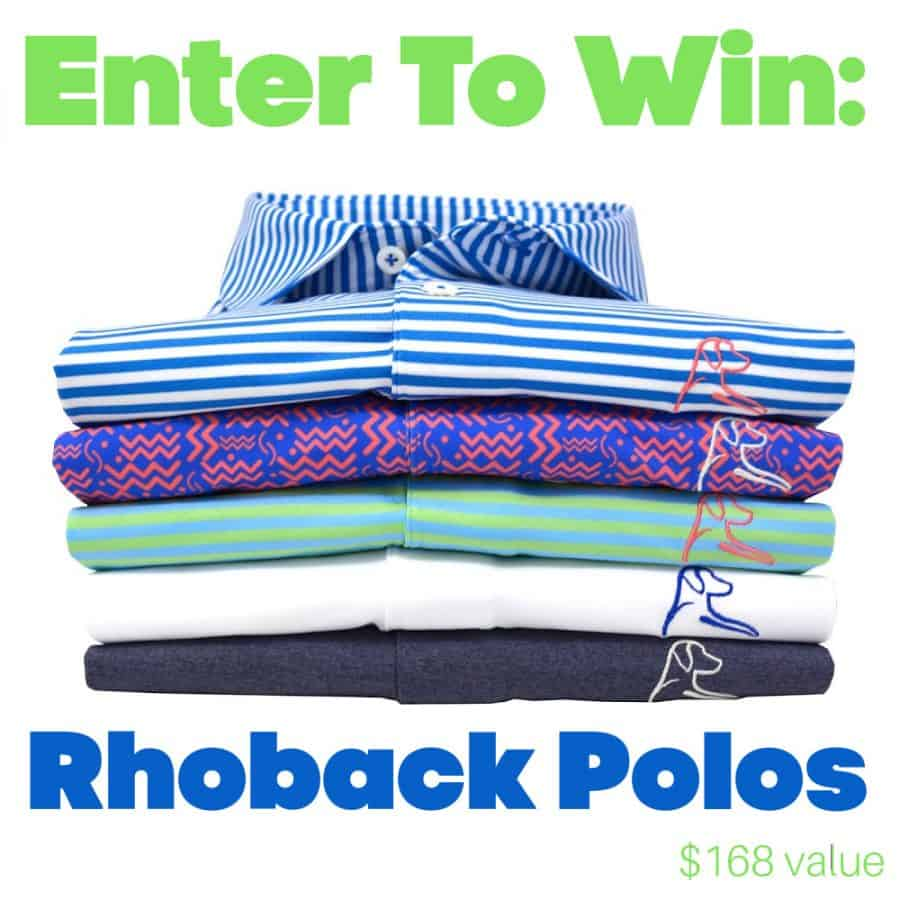 Rhoback Performance Polos Giveaway