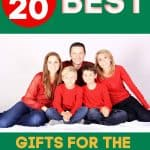 Over 20 Best Gifts for the Family