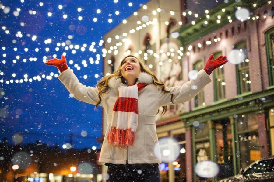Christmas Woman - best gifts for women holiday gift guide (Christmas!)