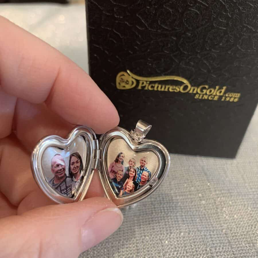 locket - PicturesOnGold.com Custom Heart Shaped Locket Giveaway