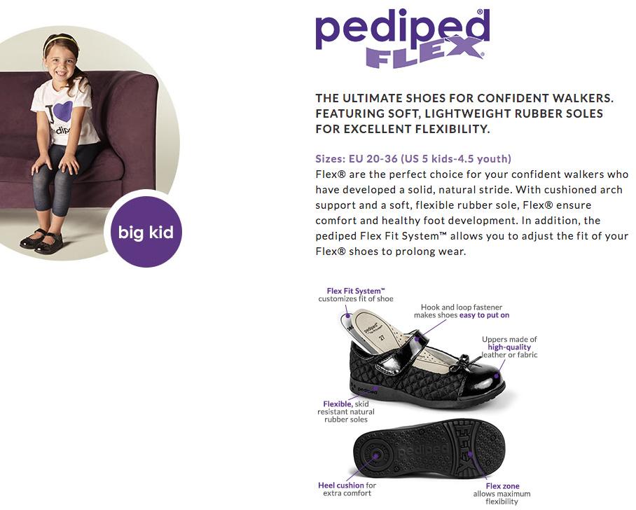 pediped Footwear System - big kids