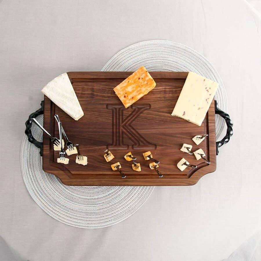 Walnut Cheese Board