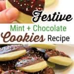 Mint Chocolate Cookies Recipe