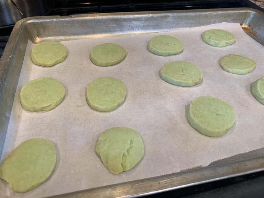 cookies - Sprinkled Mint Chocolate Cookies Recipe