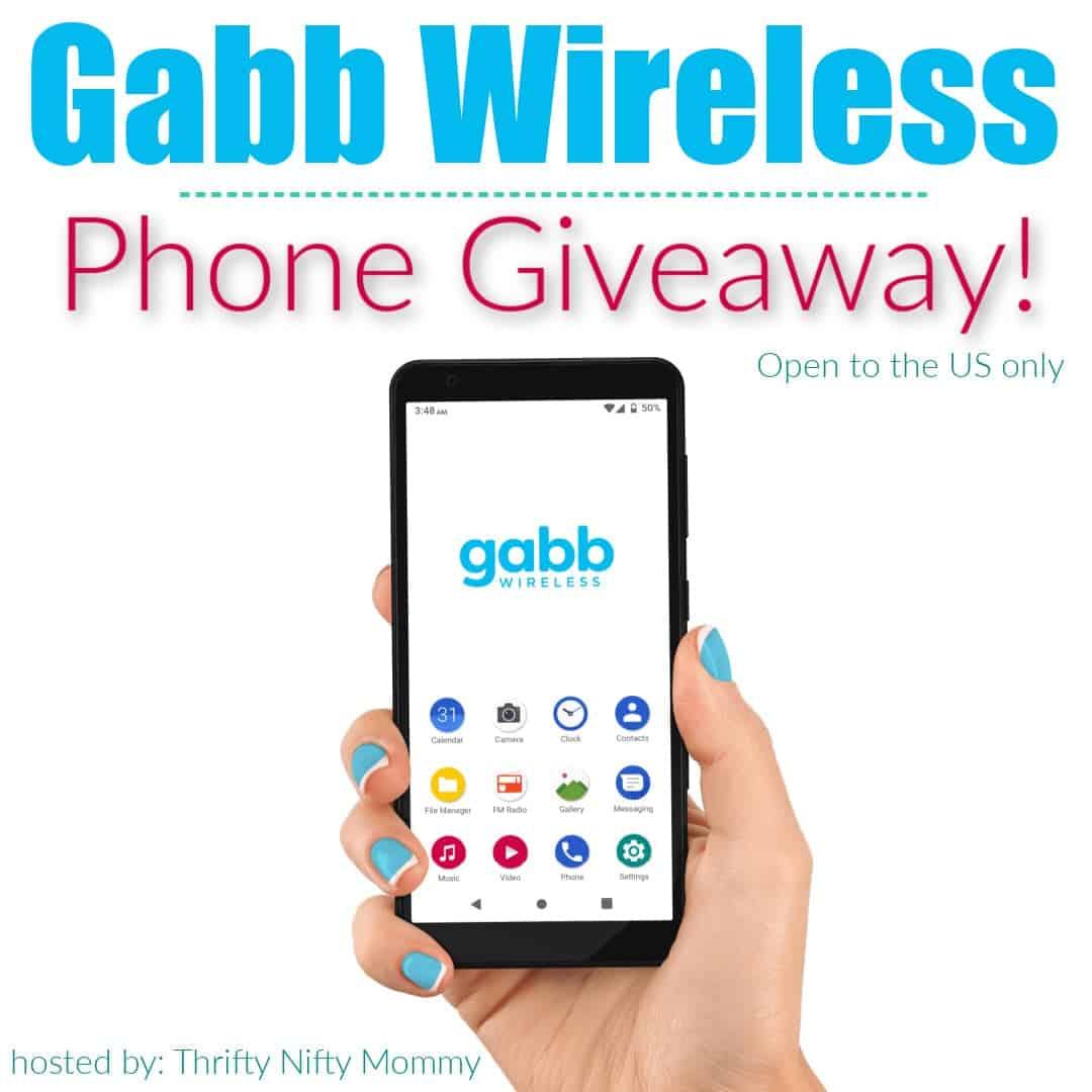 Gabb Wireless Phone Giveaway