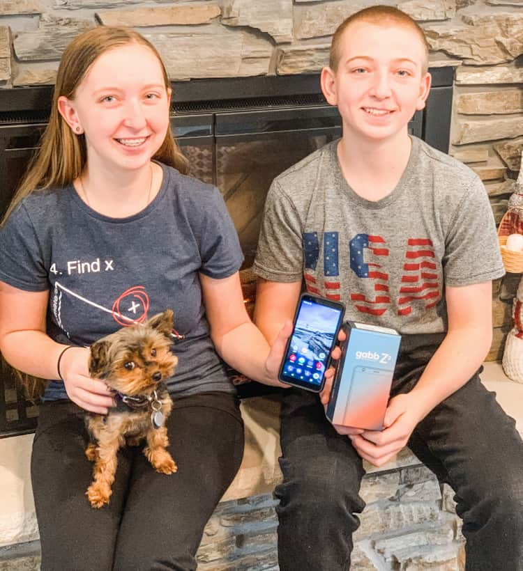 teens with phone - Gabb Wireless_ The Affordable + SAFE Phone For Kids (That Looks Cool Too!) + DISCOUNT CODE