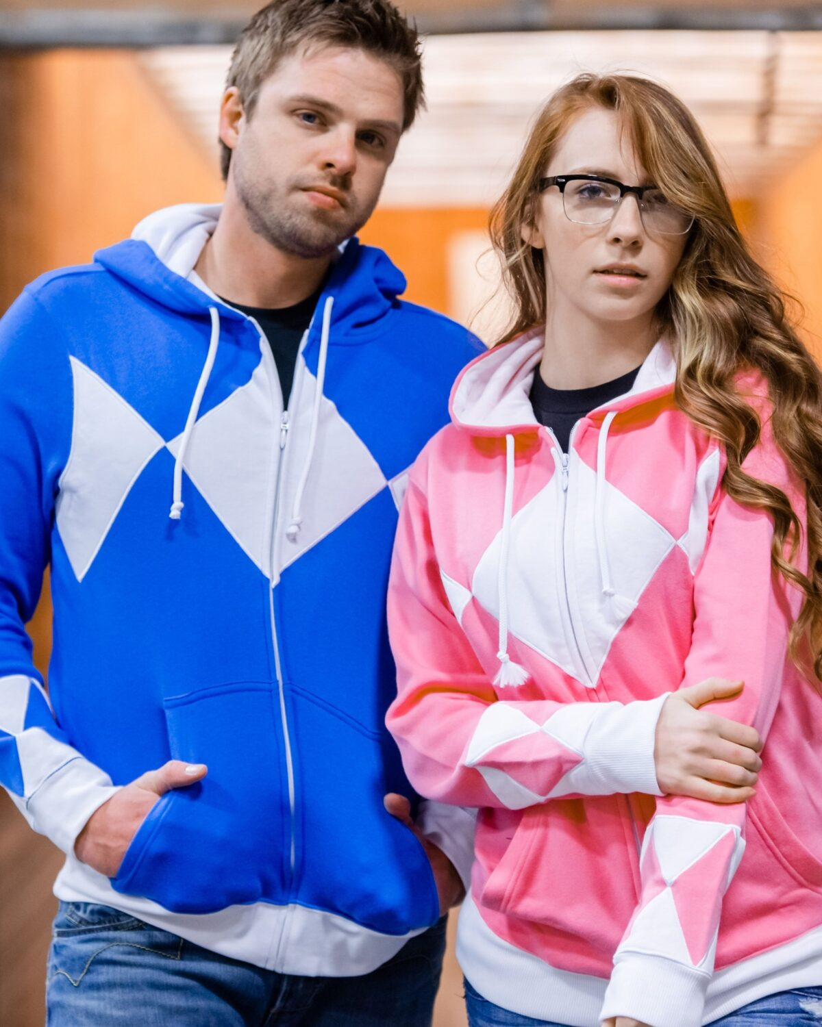 power ranger hoodie couple - Geek Gifts For Him