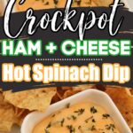 Ham and Cheese Hot Spinach Dip Recipe