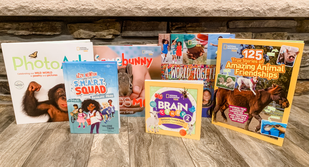 National Geographic Kids Books Giveaway