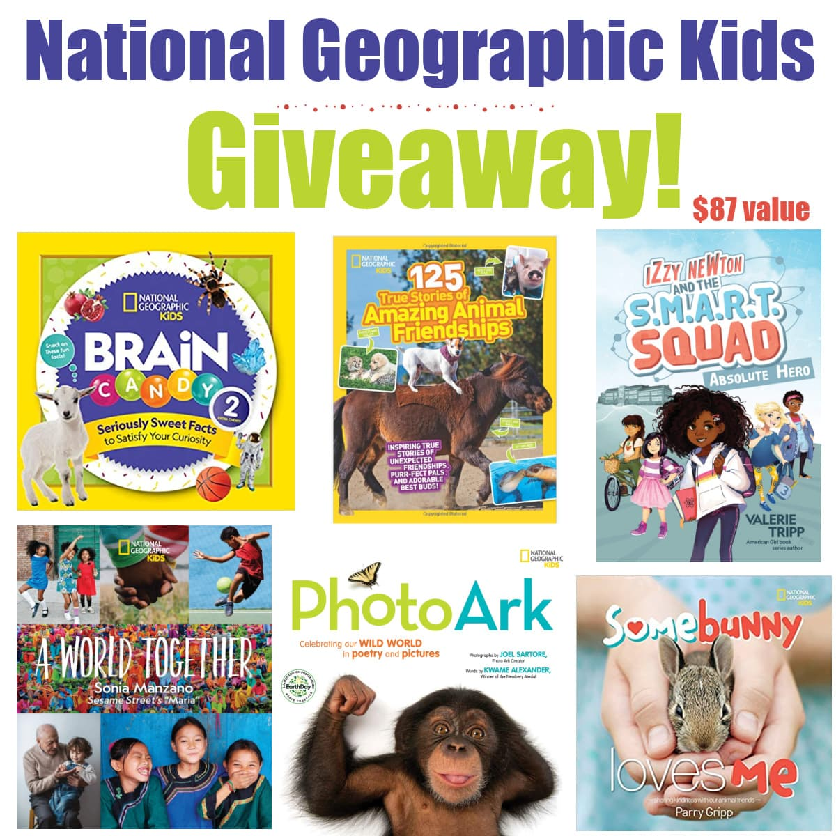 books - National Geographic Kids Books Giveaway