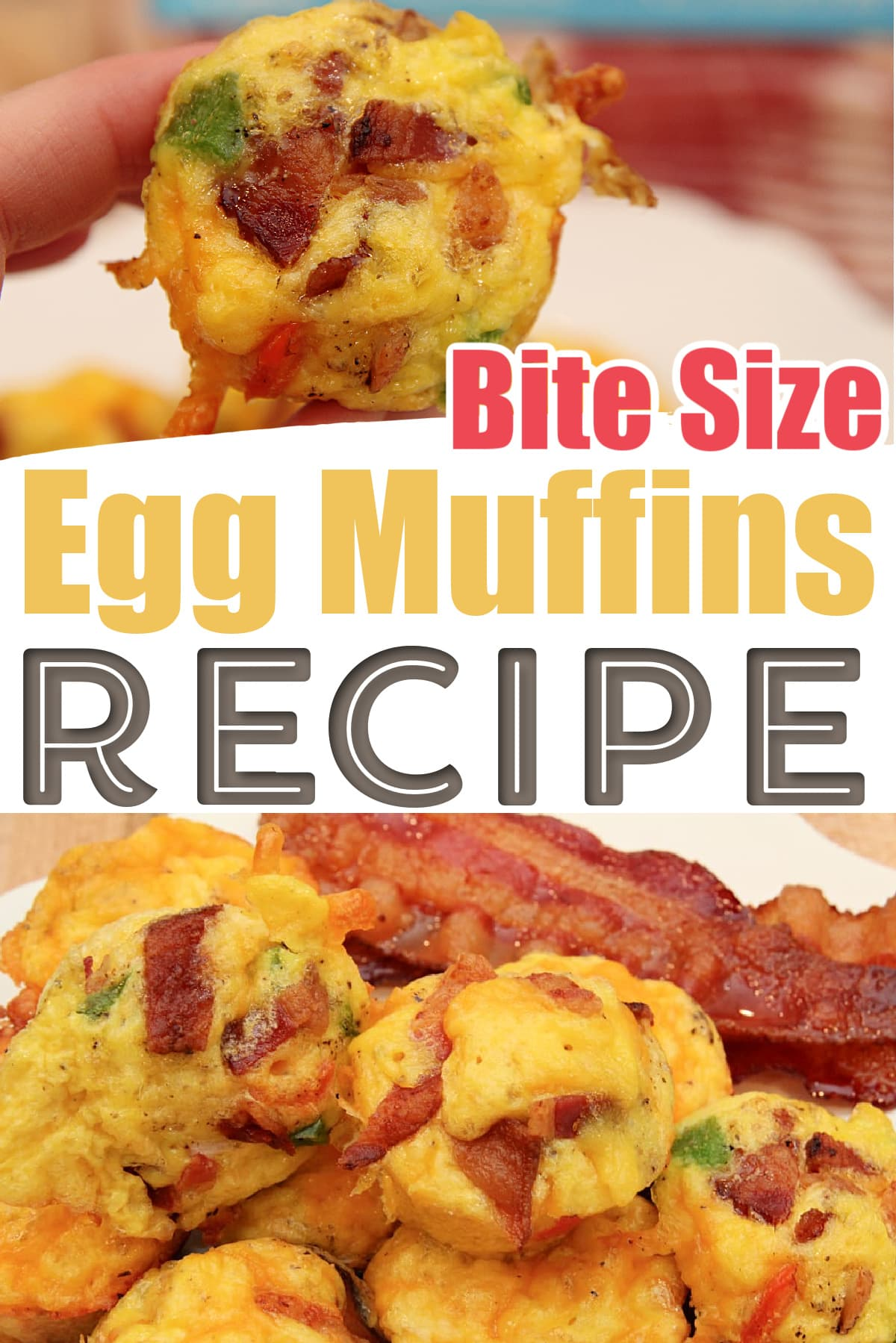 Bite Size Egg Muffins Recipe