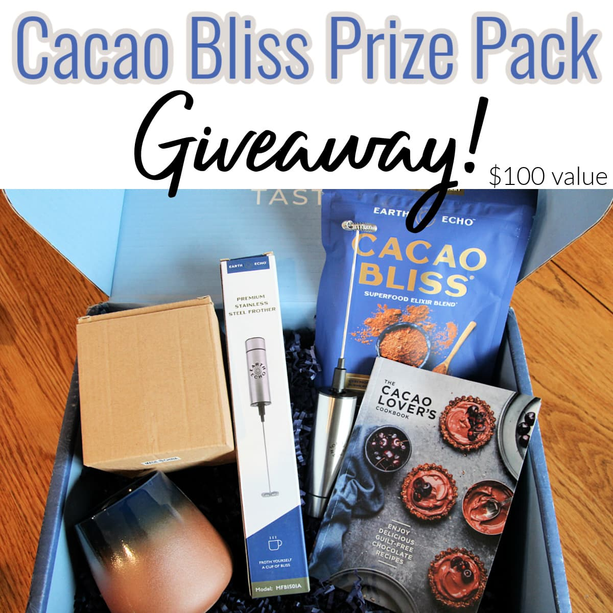 Cacao Bliss Box - Healthy Homemade Protein Bar Recipe + Giveaway