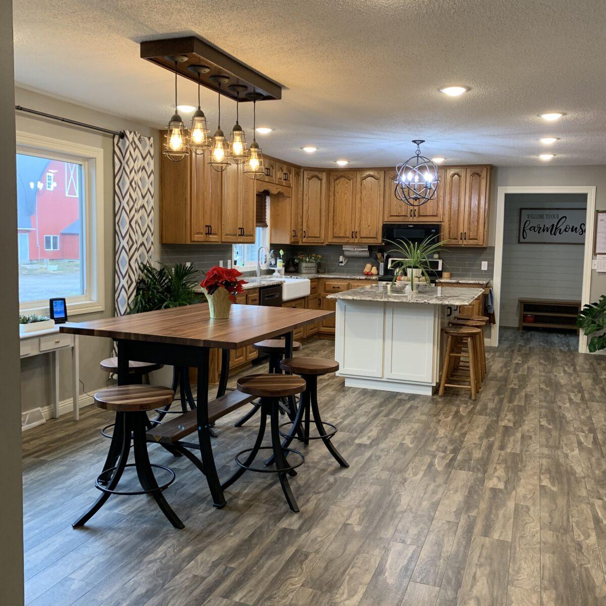 farmhouse kitchen/dinging room - Black + Decker Steam N' Vac Review