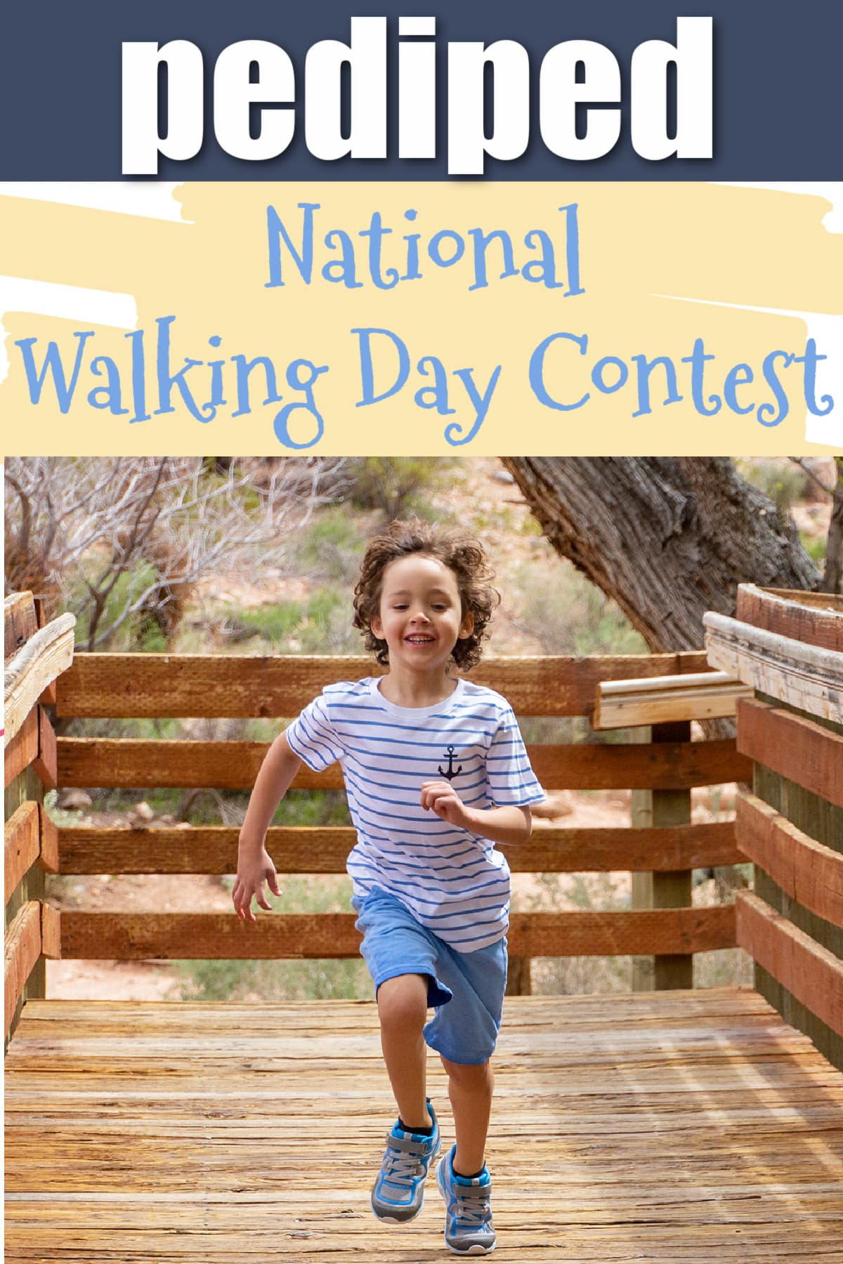 pediped National Walking Day Contest (+ Giveaway)