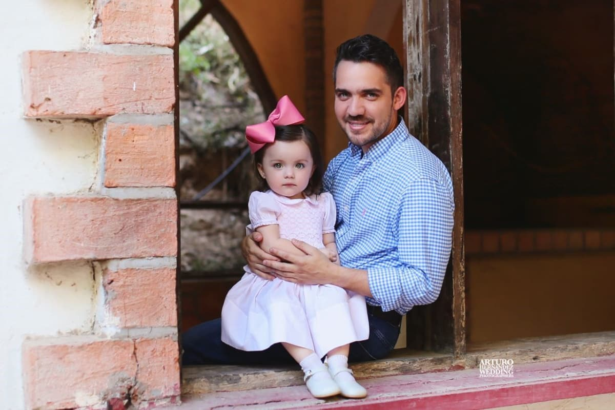 dad and daughter - Feltman Brothers Heirloom Clothing