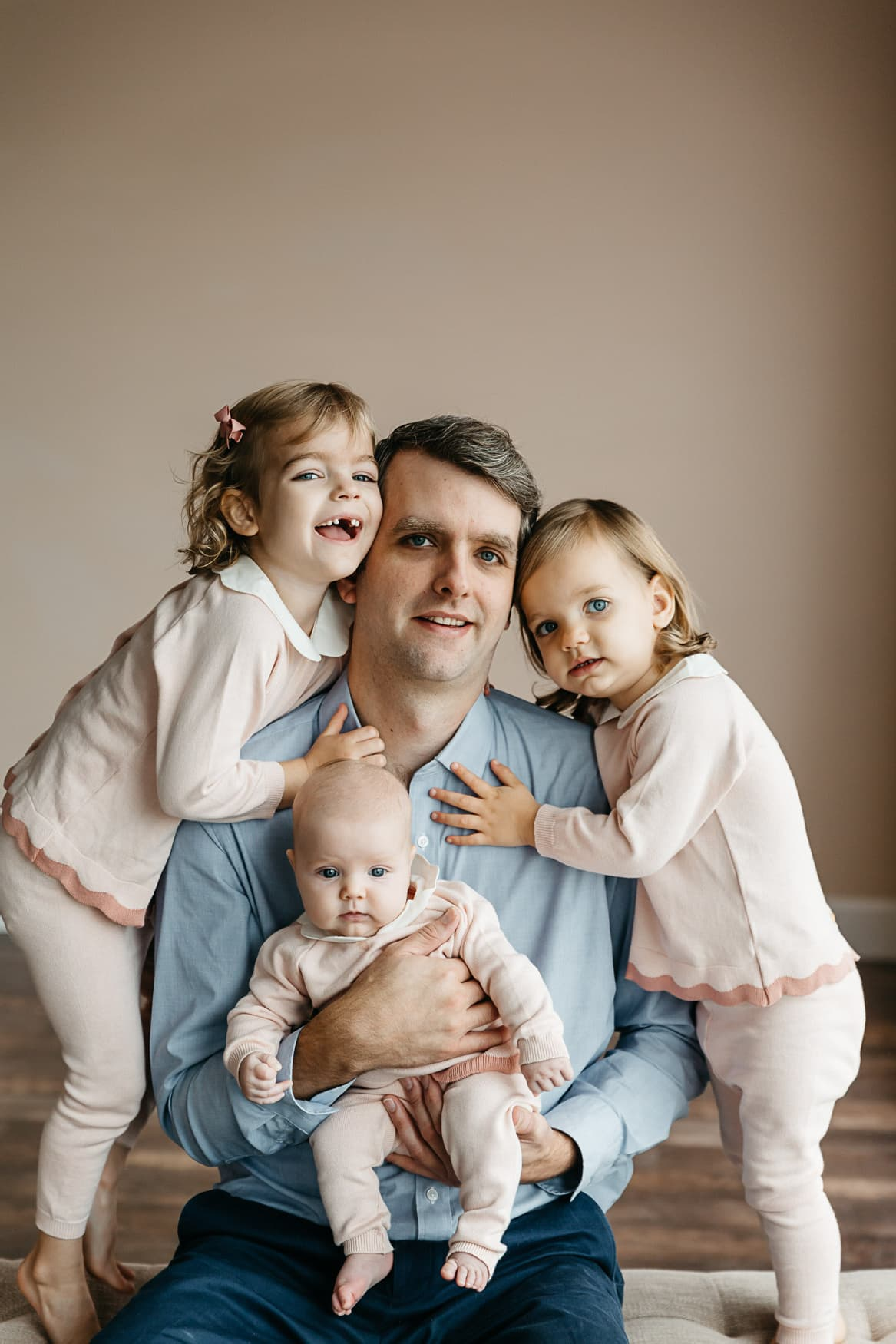 Feltman Brothers Daddy & 3 Daughters