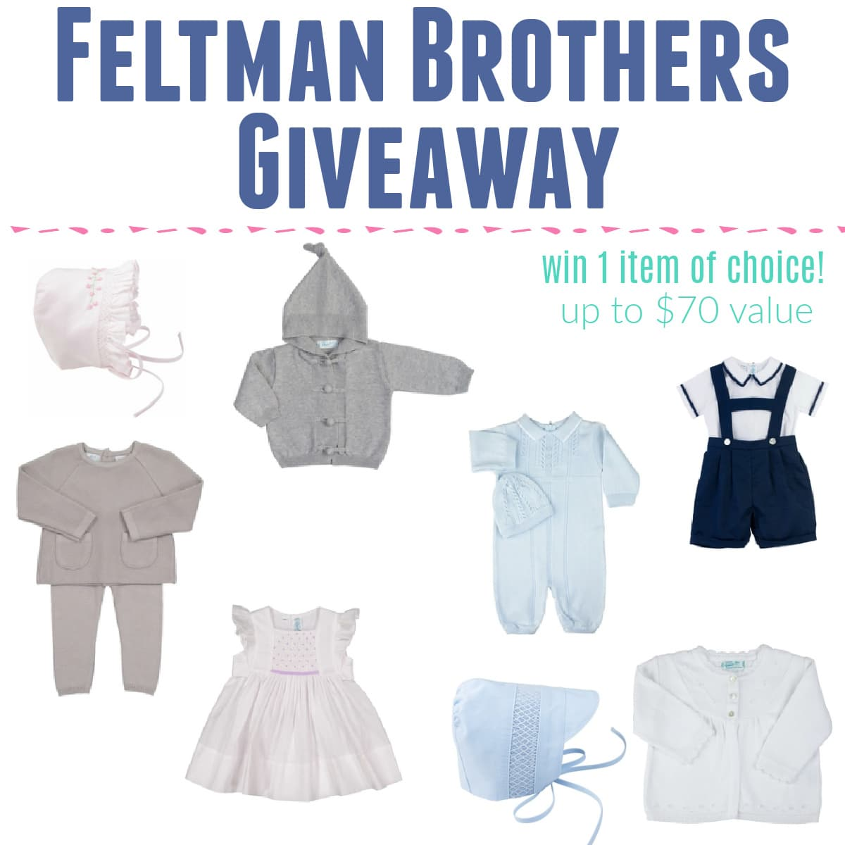 Feltman Brothers Heirloom Clothing Giveaway