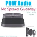 POW Audio Mo Speaker Giveaway
