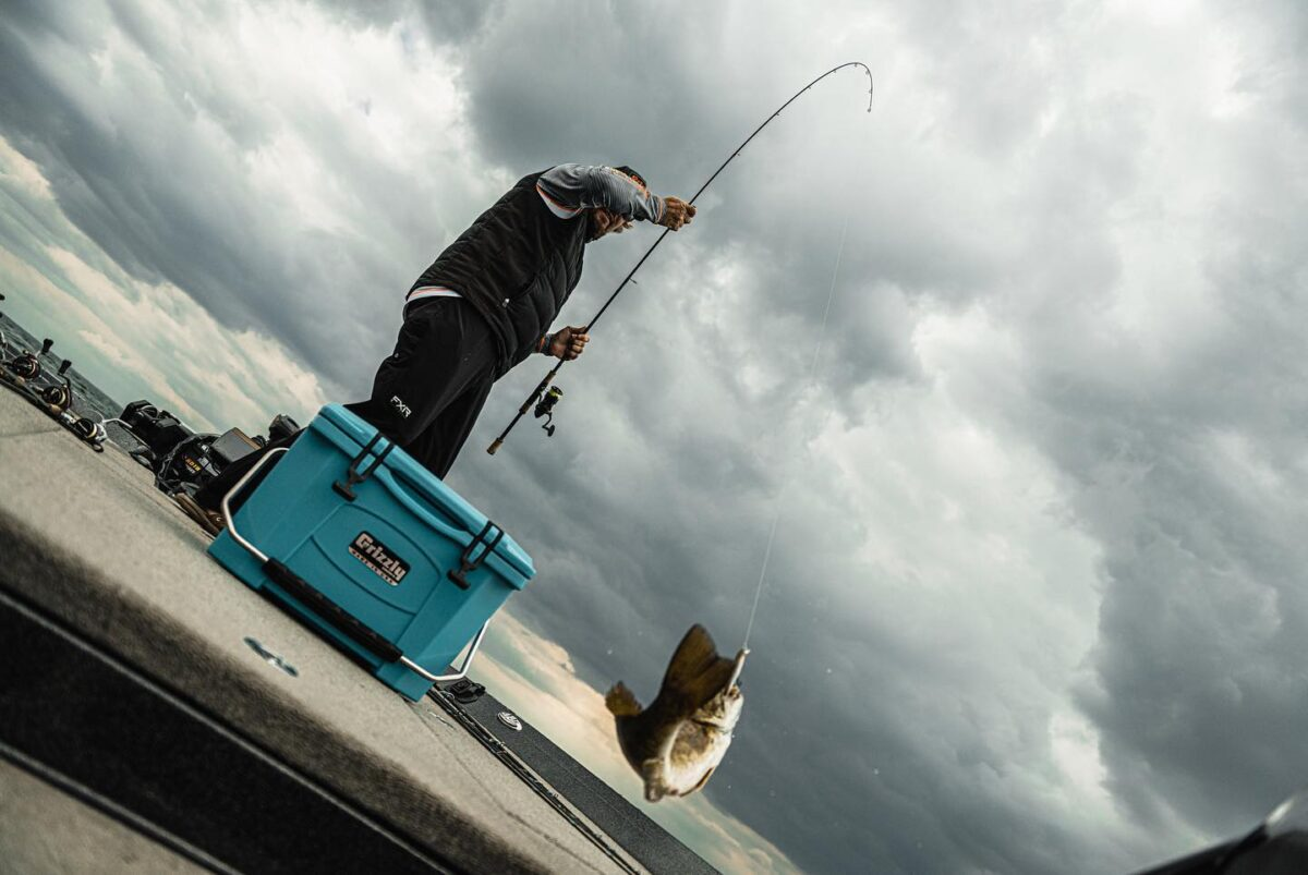 man fishing - Grizzly Cooler Giveaway! (Gift Idea For Dads)