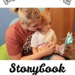 Mom With Daughter- Moonlite Storybook Projector