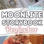 Moonlit Projector and Mom With Daughter- Moonlite Storybook Projector