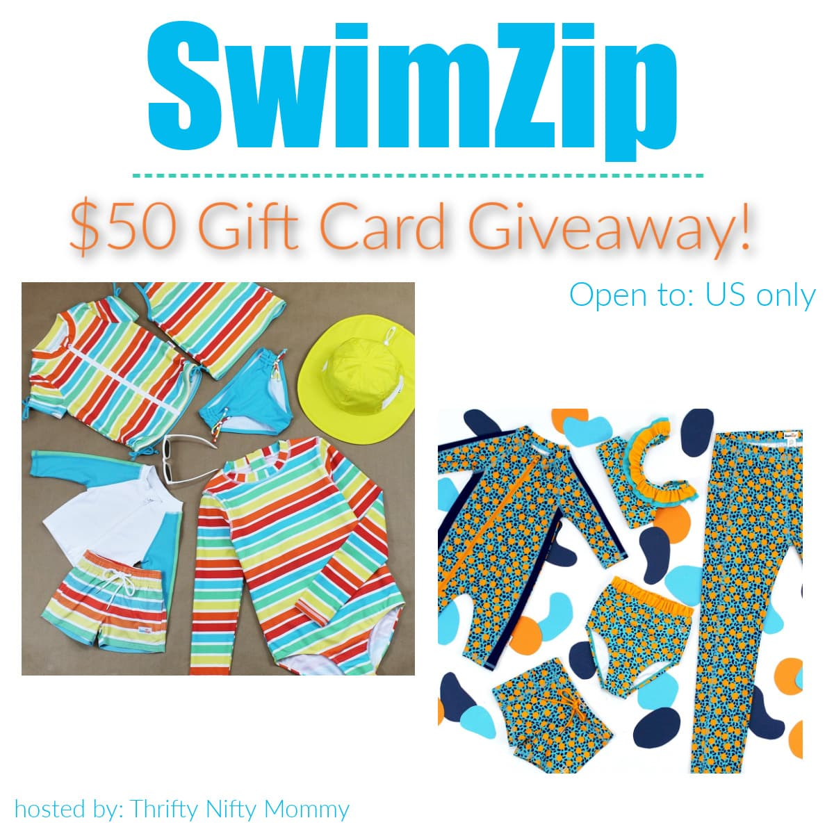 SwimZip Sun Protective Swimwear For The Whole Family! (+ Giveaway!)