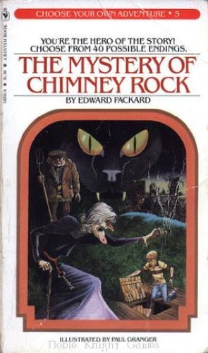 Choose Your own Adventure Book - The Mystery Of Chimney Rock