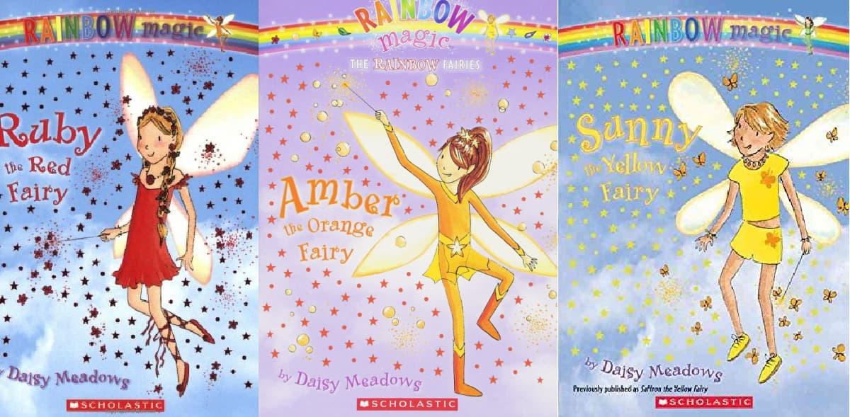 Rainbow Fairies Trio Of Books