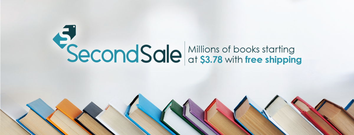 Best place to buy discounted books is SecondSale.com
